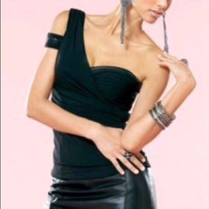 Bebe Kardashian's Zipper Top MEDIUM NWT